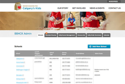 BB4CK School Lunch Tracking application released
