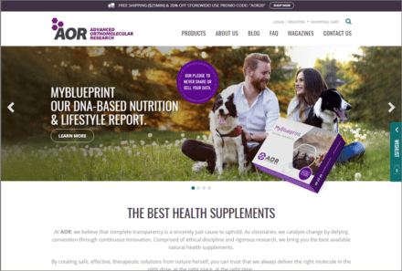 Advanced Orthomolecular Research U.S. Website Launched