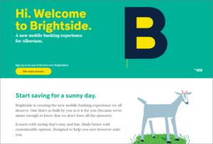 Brightside website screenshot