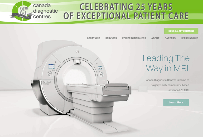 Canada Diagnostics Centres Website Launched