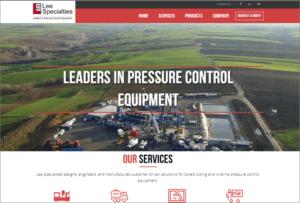Lee Specialties website screenshot