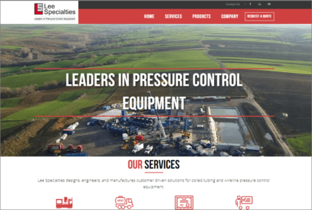 Lee Specialties Website Launched