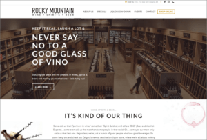 Rocky Mountain Wine Spirits and Beer website launched