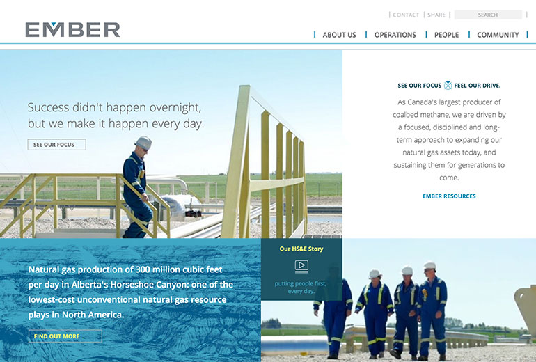 Ember Resources Site Launched