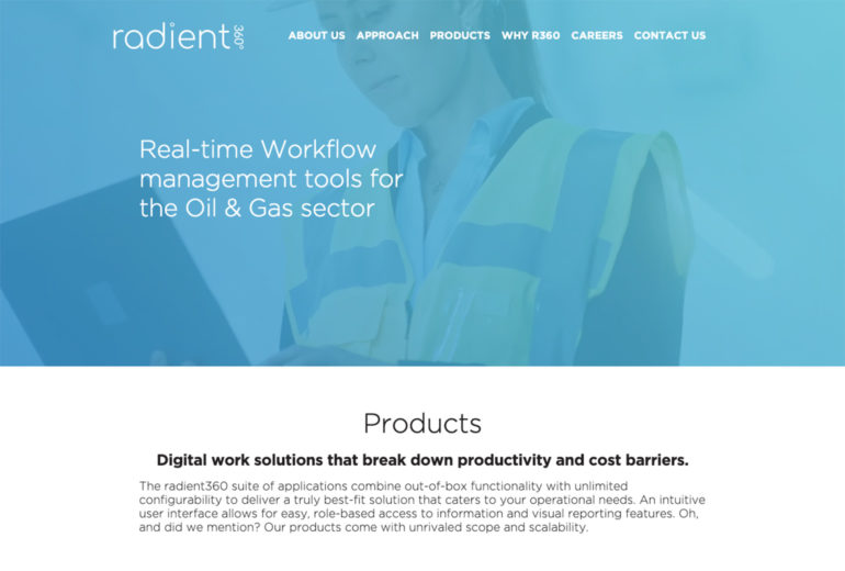 radient360 Website