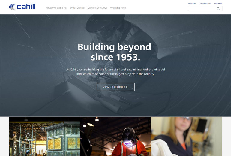 Release of the new Cahill website