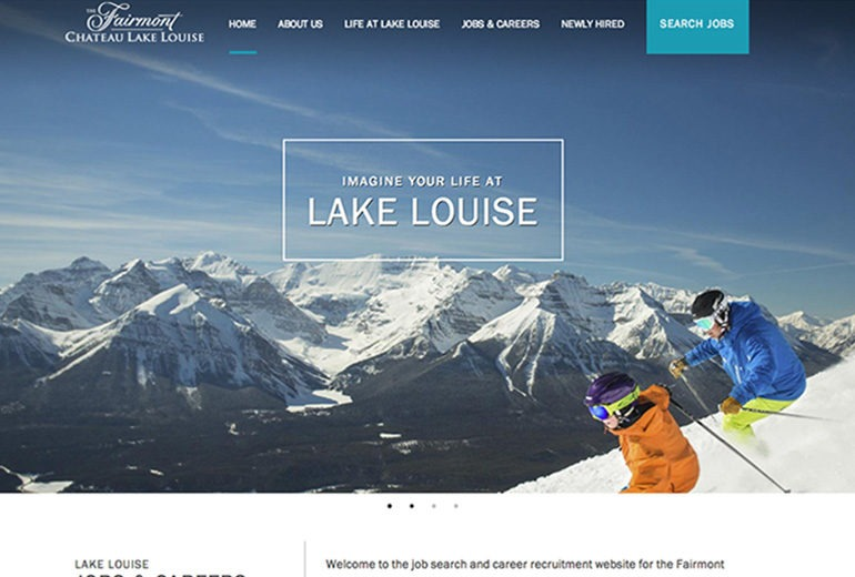Lake Louise Jobs site launched