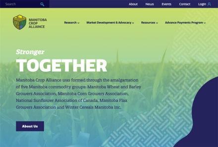 Manitoba Crop Alliance Website