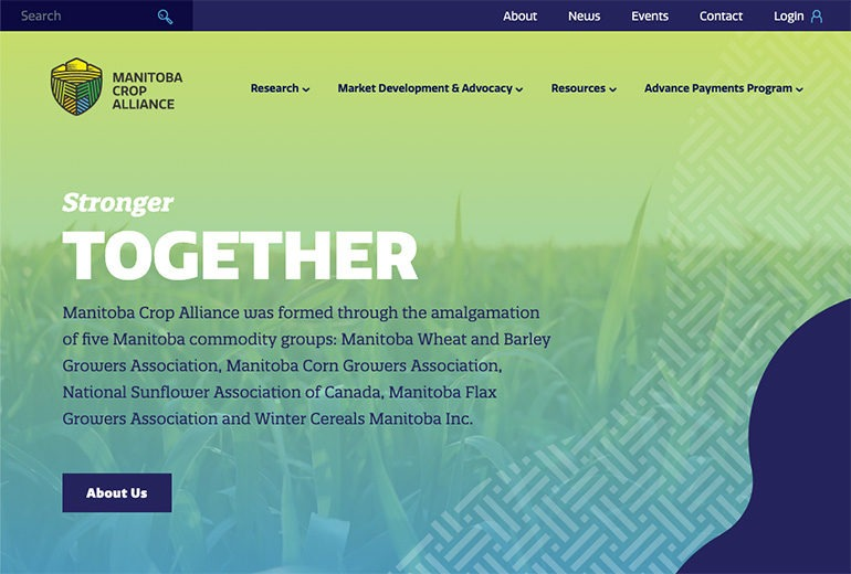Manitoba Crop Alliance Website Launched