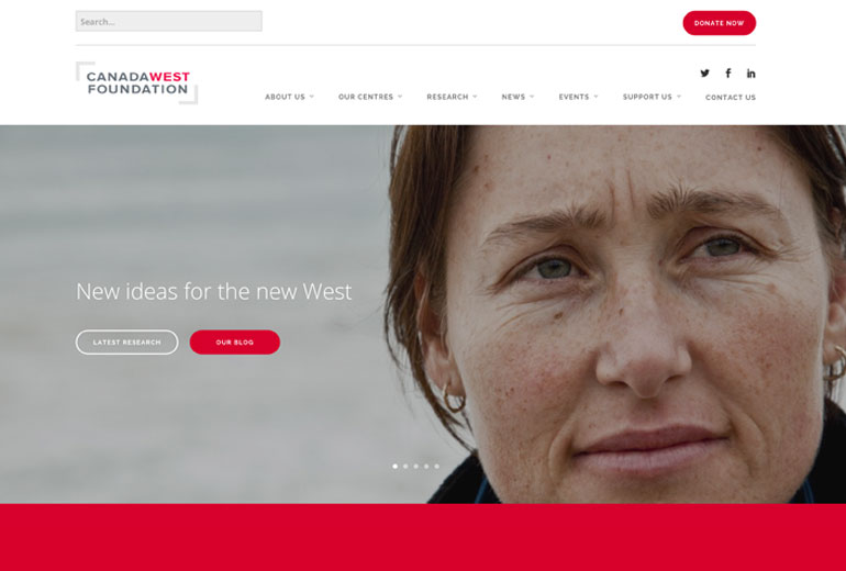 Canada West Foundation Website Launched