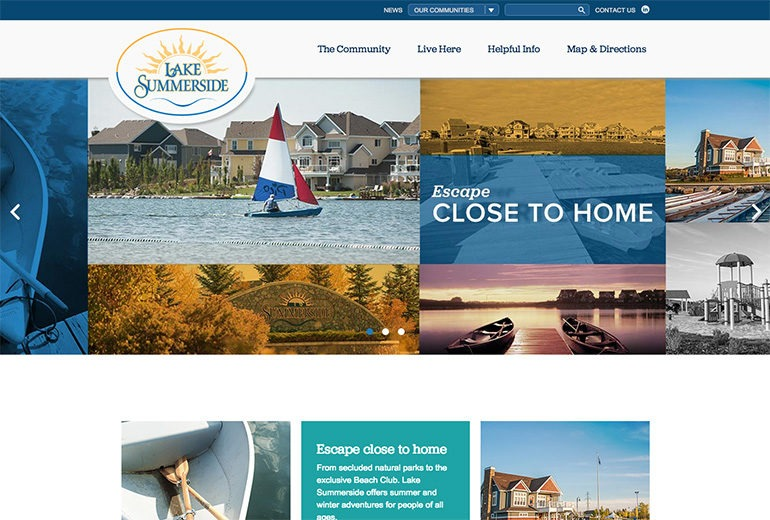 Lake Summerside Community Site Launched